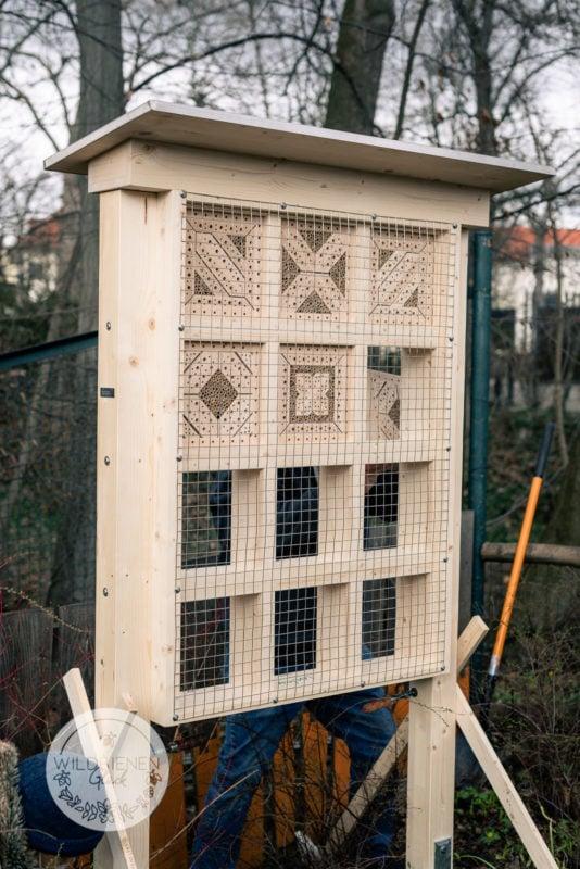 Wildbienenhotel im Zoo Leipzig