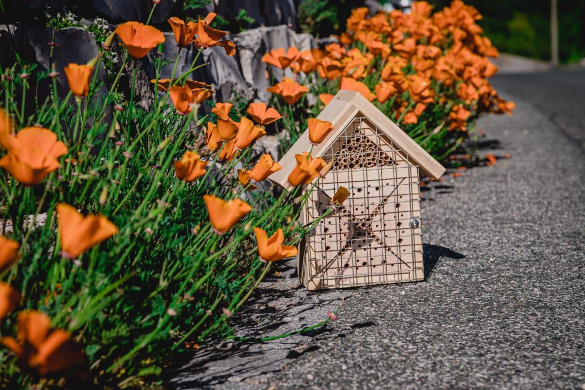 kleines Insektenhotel Bienenliebe